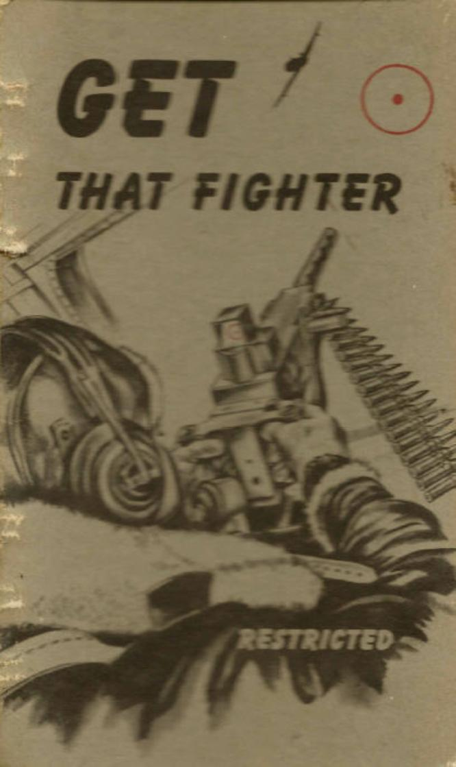 'Get That Fighter' Training Aid Booklet Cover