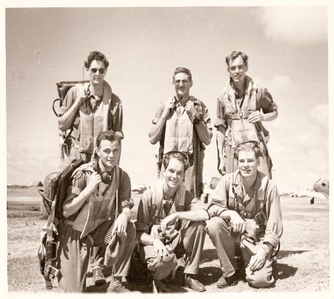 Henry Heyser and Crew of B-26 Martin Marauder